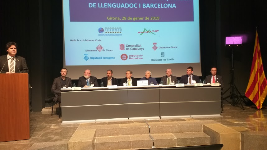 FERRMED and Energie TGV Conference Girona 2019